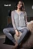 Женский вискозный костюм Lormar 65571