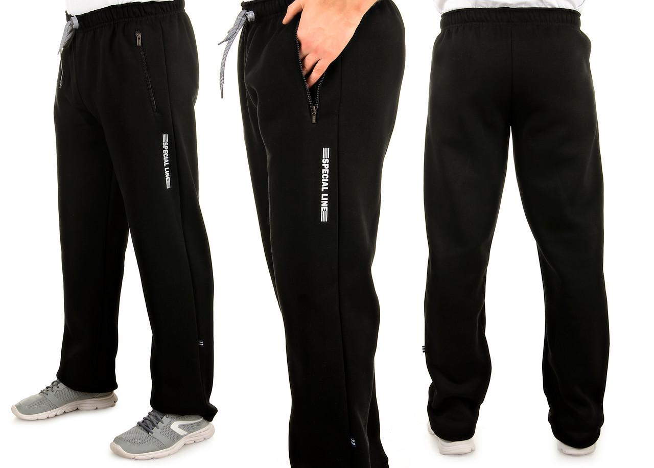 Мужские теплые трикотажные штаны с начесом Tailer Sport
