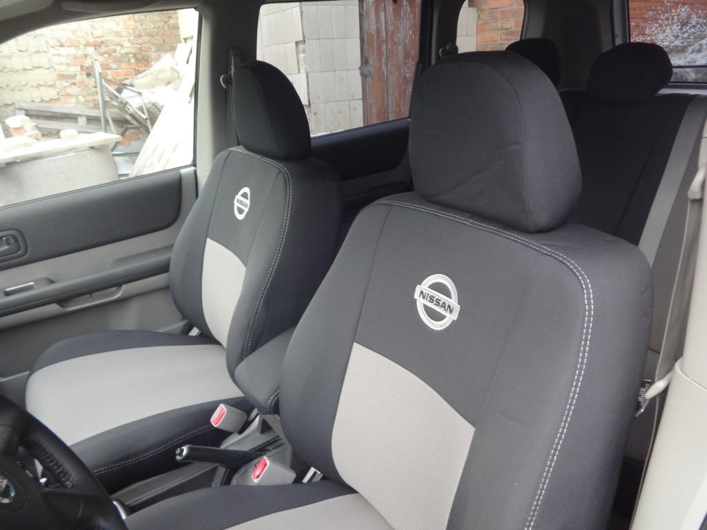 Чехлы модельные Nissan Navara Double Cab с 2005–10 г