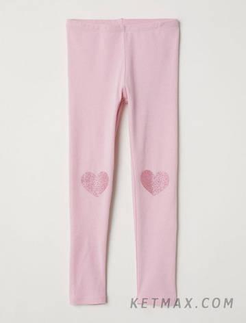 Трикотажные леггинсы H&M для девочки, фото 2