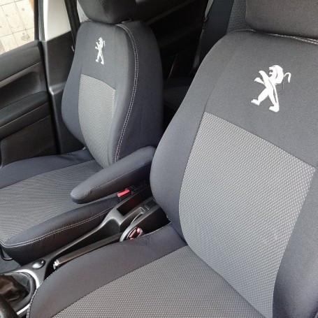 Чехлы модельные Peugeot 207 Hatch 3d с 2006-12 г Elegant Classic №241