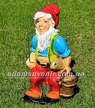 Садовая фигура Гномы на отдыхе большие, фото 2