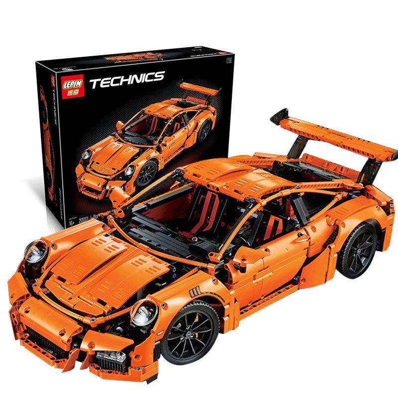 Конструктор Lepin 20001 / Technic Porsche 911 GT3 2758 деталей