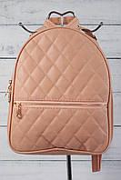 Женский городской рюкзак, розовый цвет ( код: IBR004P )