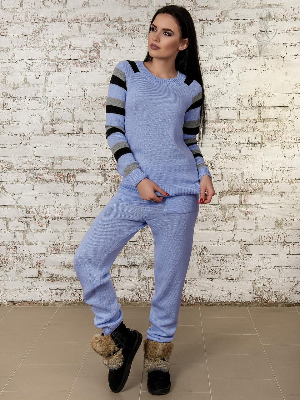 bfc4ecb9 Вязаный спортивный костюм Милана-2 - Интернет магазин женской одежды в  Харькове