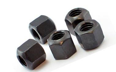 Гайка М8 высокая шестигранная DIN 6330, ГОСТ 15523-70