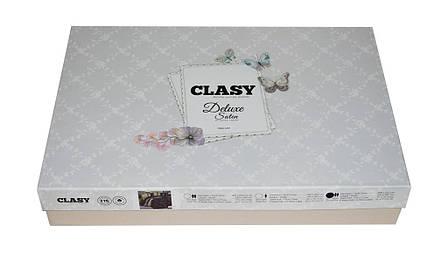 Комплект постільної білизни Clasy Satin Rosemary V2 200х221, фото 2