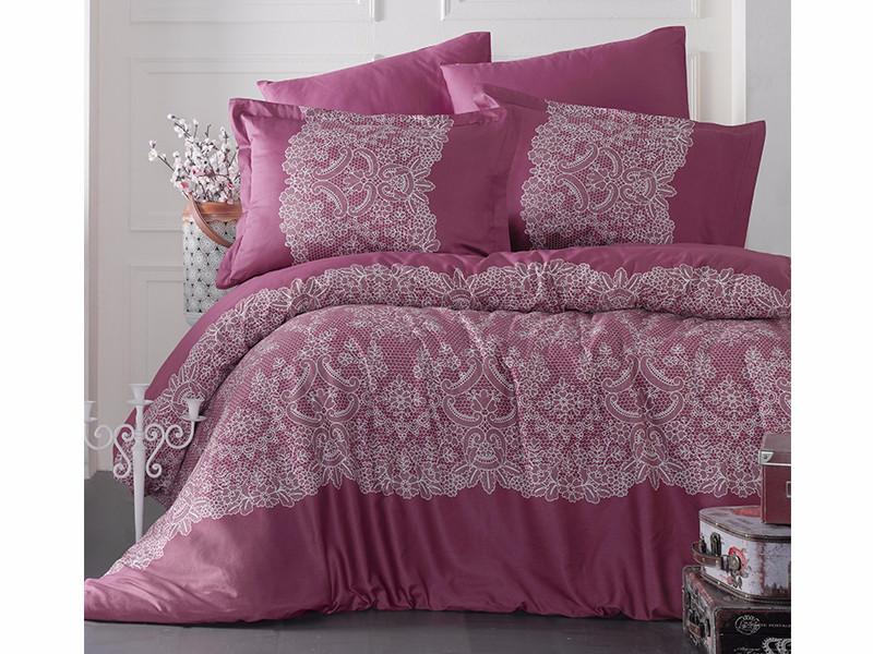Комплект постельного белья Clasy Satin Renda V2 200х220