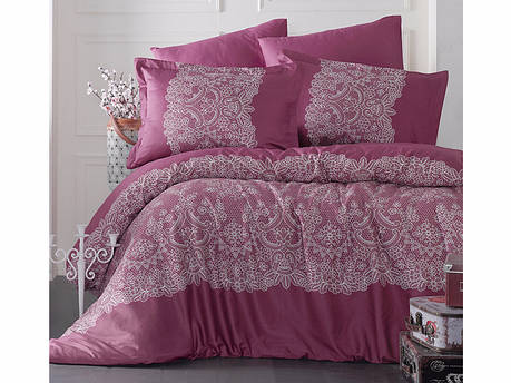 Комплект постельного белья Clasy Satin Renda V2 200х220, фото 2