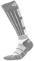 Термоноски InMove Ski Deodorant Silver 38-40 Серые с белым