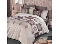 Комплект постельного белья Clasy Satin Mandela V3 200х220, фото 1