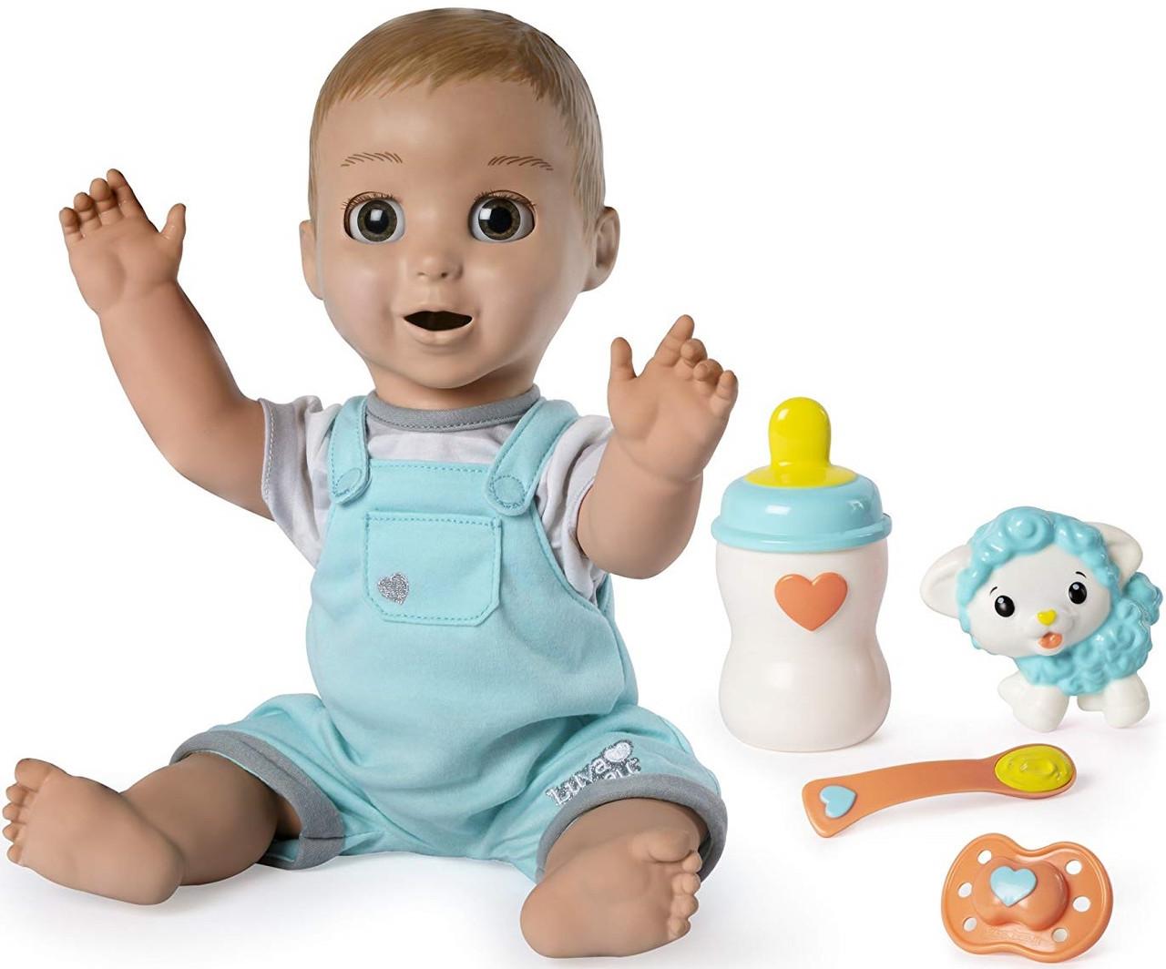 Интерактивная кукла Пупс Лувабелла Мальчик Luvabeau, Оригинал из США от Spin-Master