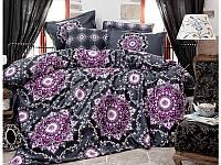 Комплект постельного белья Clasy Satin Agora V2 200х220, фото 1