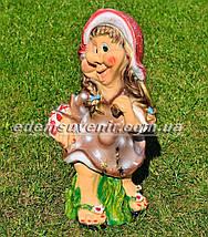 Садовая фигура Гномихи Малышка, Кнопочка, Милашка большие, фото 3
