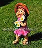 Садовая фигура Гномихи Малышка, Кнопочка, Милашка большие, фото 4