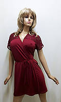 Халат женский  с гипюром 402, фото 1