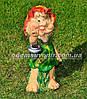 Садовая фигура Гном с мухоморами, Малышка, Кнопочка с фонарем, фото 2