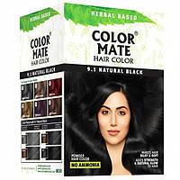 Краска для волос Колор Мате натуральный черный 180 г (Color Mate Natural Black 9.1)