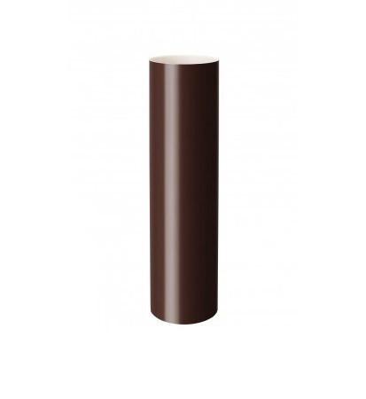Труба RainWay 75х3000 мм коричневая