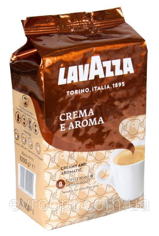 Кофе в зернах Lavazza Crema e Aroma 1кг. (Италия)