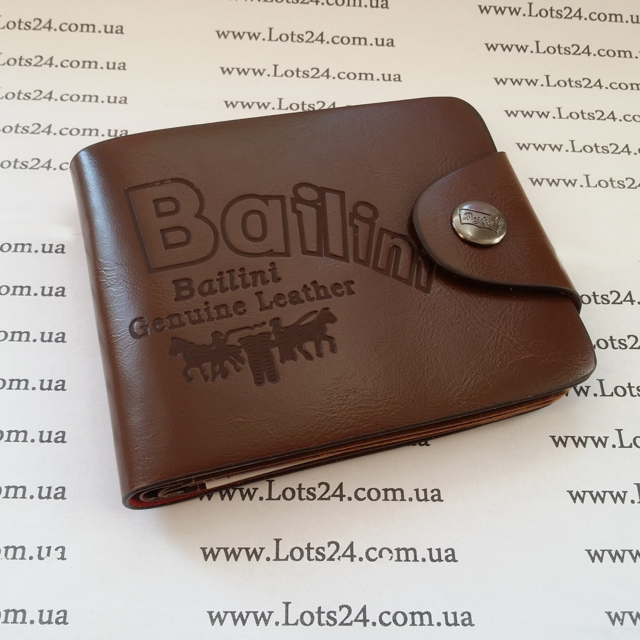 e50d74226847 Мужской кожаный кошелек BAILINI + нож кредитка - Интернет-магазин  Lots24.com.ua