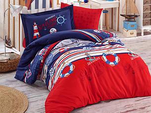 Комплект постельного белья Clasy Ранфорс Rota 160x220, фото 2