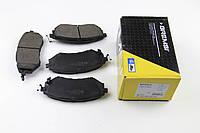 Колодки тормозные передние Subaru Legacy IV/Outback 03- (akebono)
