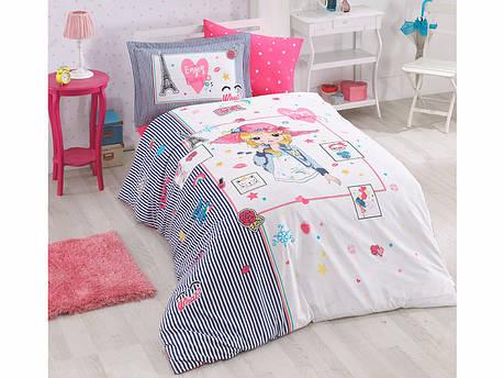 Комплект постельного белья Clasy Ранфорс Puka 160x220, фото 2