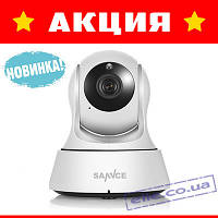 Акция! Беспроводная IP камера Sannce 1080P 2MP WIFI с датчиком звука и движения!