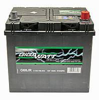 Аккумулятор GigaWatt 60A ASIA GW 0185756012