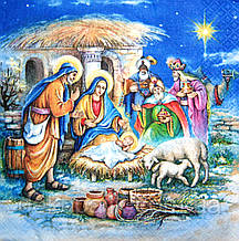 Салфетка для декупажа Рождество 7917