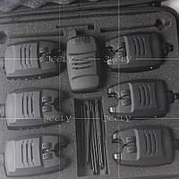 Набор сигнализаторов поклевки с пейджером 6+1 Jeely №28
