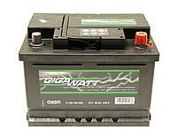 Аккумулятор GigaWatt 60A GW 0185756009