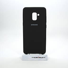 Чехол Original Soft Samsung Galaxy A730 A8 Plus 2018 black, фото 2