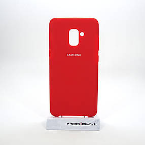 Чехол Original Soft Samsung Galaxy A730 A8 Plus 2018 red, фото 2