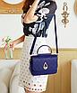 Сумка женская через плечо классическая Selin Синий, фото 2