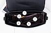 Сумка женская через плечо с ручкой классическая Selin Черный, фото 3