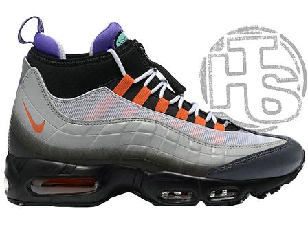 32b884f2 Мужские кроссовки Nike Air Max 95 Sneakerboot Greedy Black/Volt/Orange  806809-078