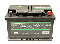 Аккумулятор GigaWatt 72A GW 0185757209