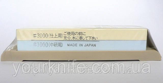 Точилка Японский водный камень Suehiro SKG-27 1000/3000