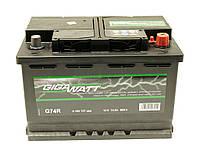 Аккумулятор GigaWatt 74A GW 0185757404