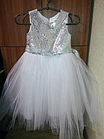 Платье костюм снежинки