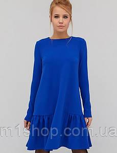 Женское трикотажное свободное платье трапецией (Glem crd)