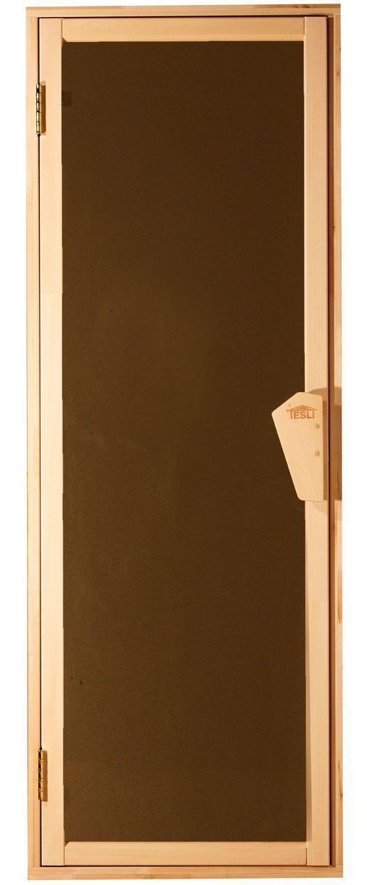 Дверь для бани и сауны Tesli UNO 70X190