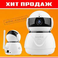 Хит продаж! Беспроводная IP камера Sannce 1080p FullHD 2MP WIFI с ночным режимом и датчиком движения!