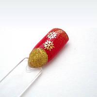 Украшения для ногтей Снежинки