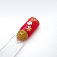 Снежинки для ногтей