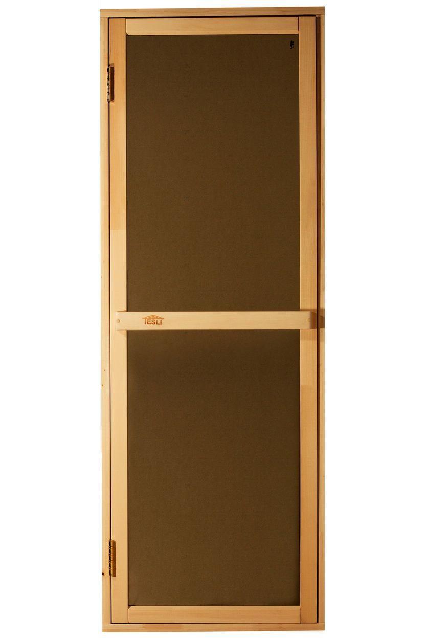 Дверь для бани и сауны Tesli Bravo sateen 70X190