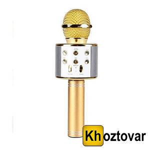 Караоке-мікрофон Wster WS-858 Bluetooth