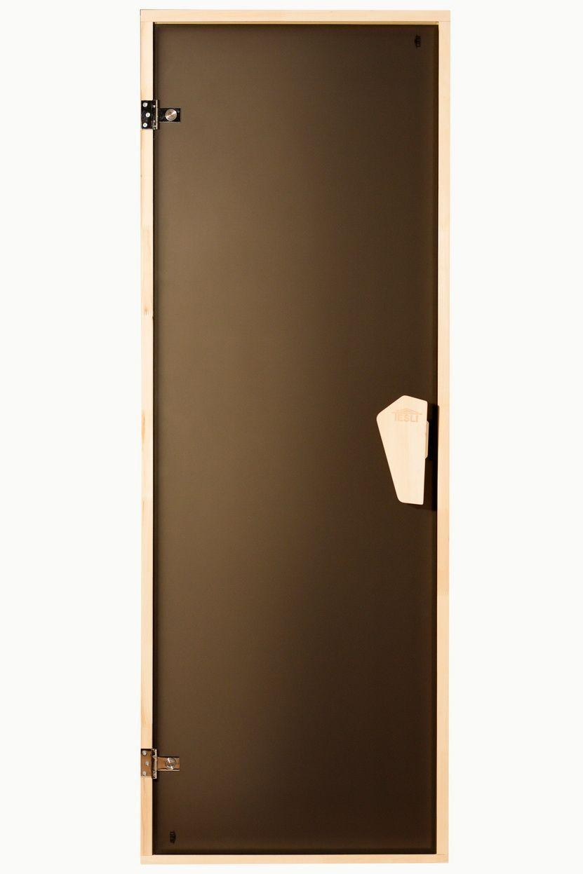 Дверь для бани и сауны Tesli Sateen 70X180